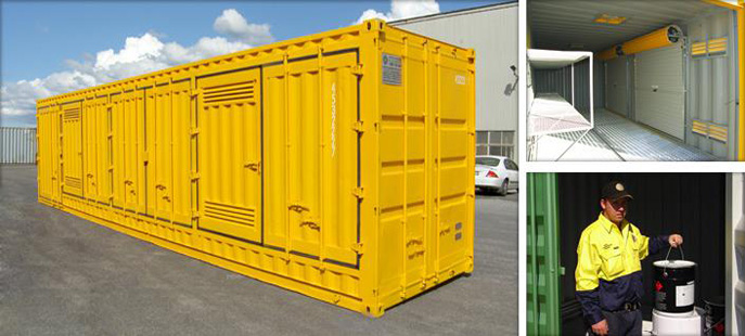 East Coast Commodities Dangerous Goods Storage Containers